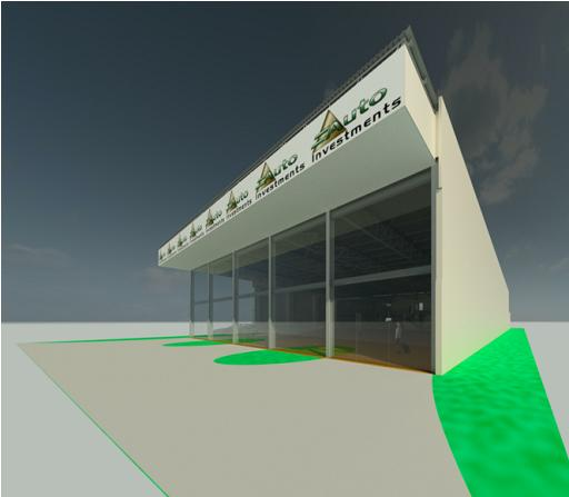 Auto Investments Rev 0 - Rendering - Three Dimensional Perspective View 3