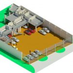 Auto Investments Rev 0 - Rendering - Three Dimensional Section View First Floor