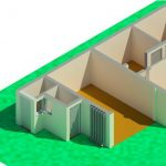 Auto Investments Rev 0 - Rendering - Three Dimensional Section View Ground Floor Tiollets