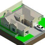 Duncanville Development Terrein - Rendering - 3D View Erf 24