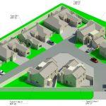 Duncanville Development Terrein - Rendering - Three Dimensional View Numbering