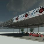 Carz dot Com Rev 1 - Rendering - Three Dimensional Perspective View 3