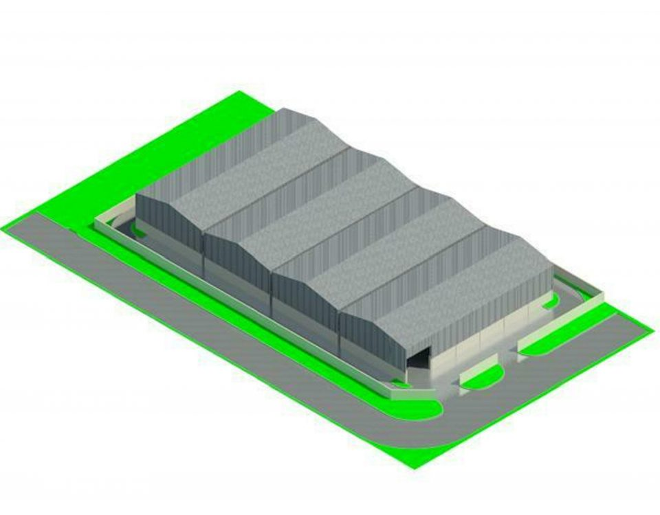 Dawie Fourie - New Workshops - Erf 207 CE6 - Rendering - Three Dimensional SE View