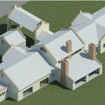 AS-BUILD LOMBARD HUIS - Rendering - Three Dimensional View NE