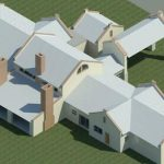 AS-BUILD LOMBARD HUIS - Rendering - Three Dimensional View NW
