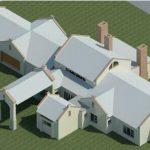AS-BUILD LOMBARD HUIS - Rendering - Three Dimensional View SE