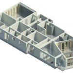 Herbst House - Rendering - Three Dimensional Ground Floor Step 1 Prop