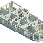Herbst House - Rendering - Three Dimensional Ground Floor Step 2 Remove walls