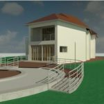 Herbst House - Rendering - Three Dimensional Perspective View 2