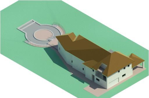 Herbst House - Rendering - Three Dimensional View NW