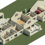 Huis-Lomard-Vaal-View-Existing-Plans----Rendering---Three-Dimensional-Detail-View