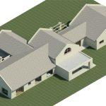 Huis-Lomard-Vaal-View-Existing-Plans----Rendering---Three-Dimensional-View-NE