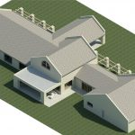 Huis-Lomard-Vaal-View-Existing-Plans----Rendering---Three-Dimensional-View-NW