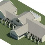 Huis-Lomard-Vaal-View-Existing-Plans----Rendering---Three-Dimensional-View-SE