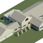 Huis-Lomard-Vaal-View-Existing-Plans----Rendering---Three-Dimensional-View-SW